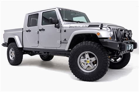 A New Jeep Wrangler Pickup Truck Is Officially Coming In 2017