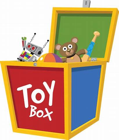 Toy Box Toys Toybox Clipart Vector Juguetes