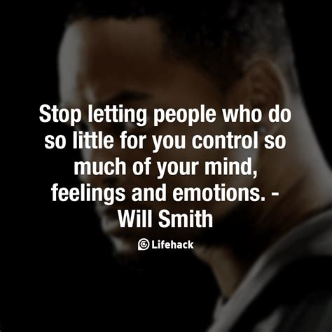 Stop Letting People Who Do So Little For You Control So