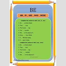 Be ( Am , Is , Are , Was , Were )  Esl Worksheets Of The Day  Pinterest  English, Worksheets