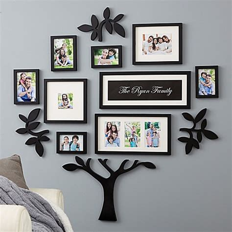 wallverbs  piece family tree set  black bed bath