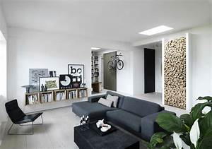Wohnzimmer Scandi Style : d coration scandinave avec une touche industrielle ~ Frokenaadalensverden.com Haus und Dekorationen