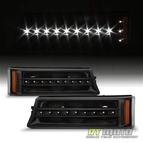 2006 silverado led lights blk 2003 2006 chevy silverado 1500 2500 led halo