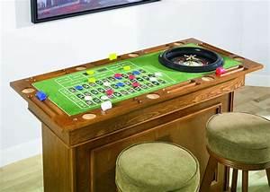 Bar A Roulette : home casino bar stools poker roulette craps table set ebay ~ Teatrodelosmanantiales.com Idées de Décoration