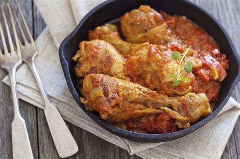 recette de cuisine cuisse de poulet poulet basquaise secrets et recette du poulet basquaise