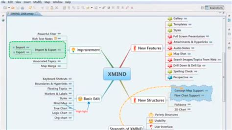 popular mind mapping tool xmind