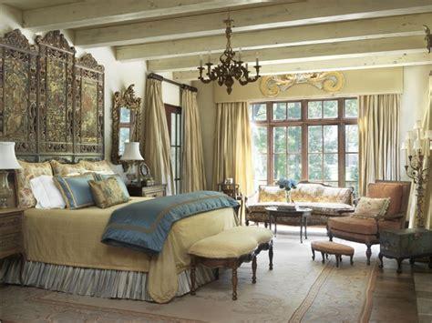 tuscan villa mediterranean bedroom st louis  amy