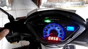 Custom Speedometer Supra X 125