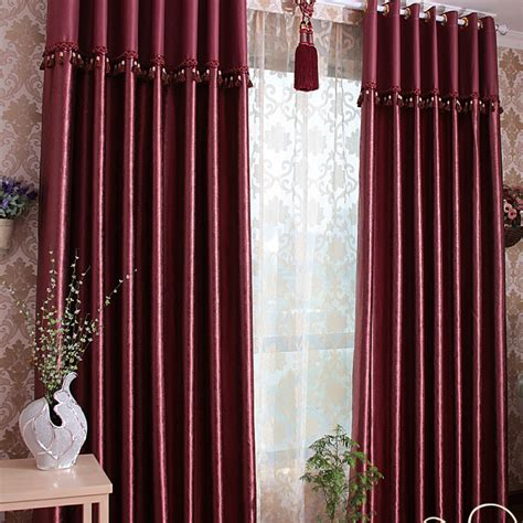 burgundy and green curtains images