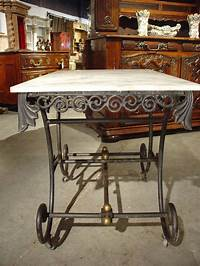 french pastry table Early 1900's French Pastry Table at 1stdibs