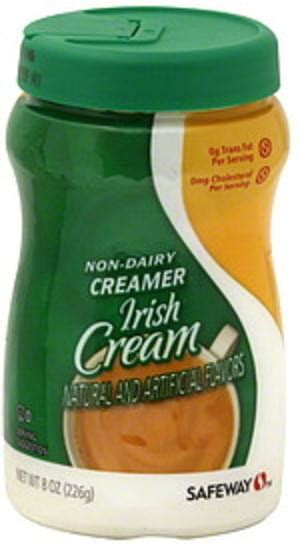 See more ideas about non dairy coffee creamer, coffee creamer, creamer. Safeway Irish Cream Non-Dairy Creamer - 8 oz, Nutrition Information | Innit