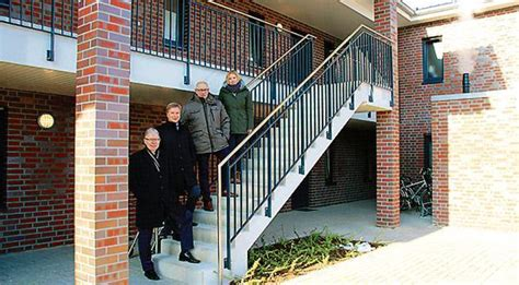 Wohnung Mieten Oldenburg Nwz by Bauen Wildeshausen Erste Neue Sozialwohnungen Bezogen