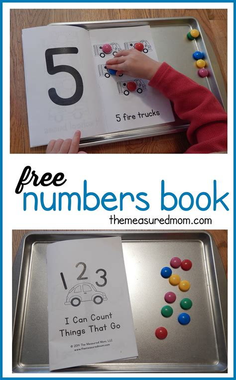 free numbers book for ages 2 5 the measured 226 | free numbers book the measured mom
