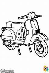 Vespa Scooter Dessin Px Drawing Coloring Coloriage Moto Scooters Lambretta Et Imprimer Dessins Colorier Visiter Da Noir Dibujo Para Depuis sketch template