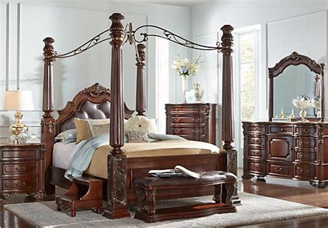 shop   southampton  pc canopy queen bedroom  rooms