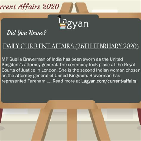 Daily Current Affairs (19th February 2020) | Lagyan