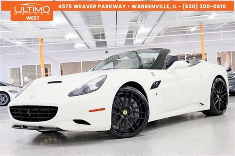The site owner hides the web page description. Used 2011 Ferrari California for Sale (with Photos) - CarGurus