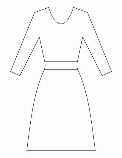 Coloring Pages Ladies Dresses Clipart Fancy Princess