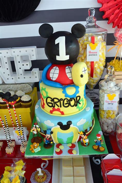 karas party ideas mickey mouse st birthday party