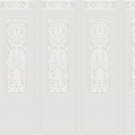 rococo dado panel  anaglypta paintable white