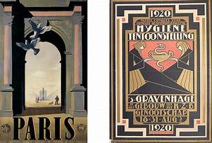 The Irresistible Nature of an Art Deco Poster Widewalls