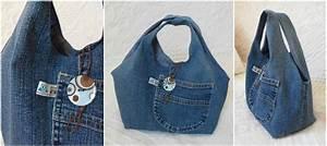 Comment Faire Un Sac : patron couture sac en jean ~ Melissatoandfro.com Idées de Décoration