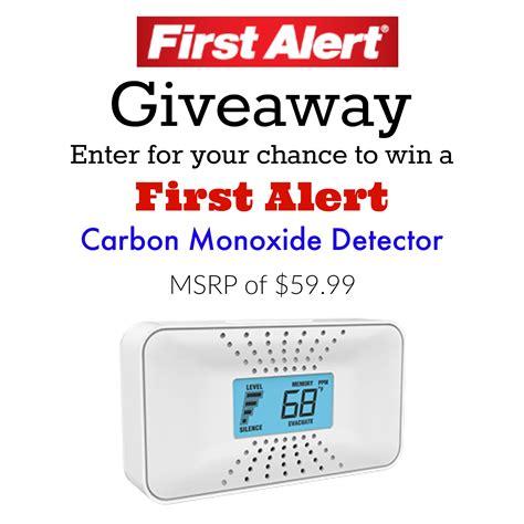 first alert 3 beeps green light mamathefox first alert carbon monoxide detector giveaway