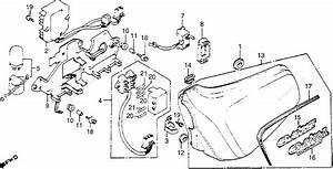 Honda Motorcycle 1979 Oem Parts Diagram For Left Side