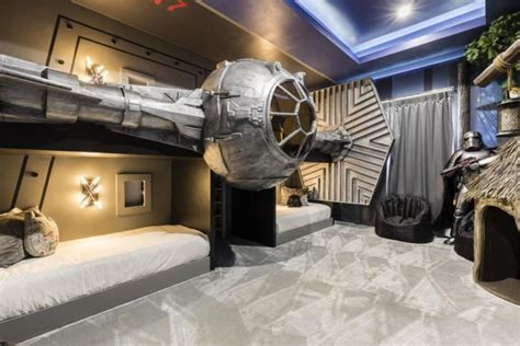 star wars themed bedroom  exclusive private villas