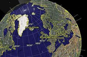 View Of Google Earth Client  Showing Constellation Of