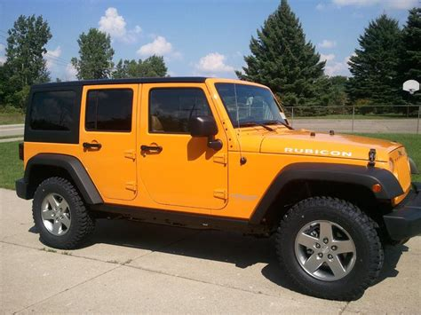 jeep wrangler 2012 colors