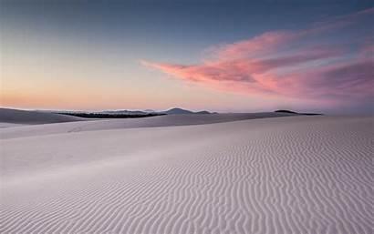 Desert Wallpapers Dune Sand Wolken Dunes Snow