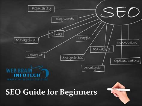 seo for beginners ppt seo guide for beginners the beginner guide to seo