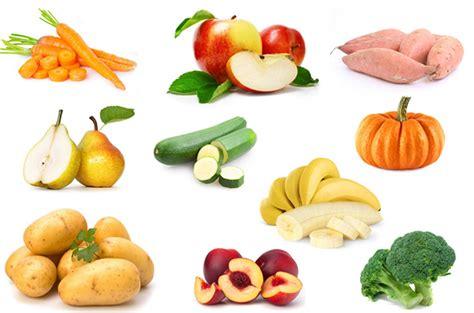les 10 premiers aliments pour commencer la diversification