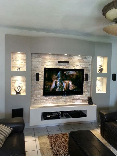 Designer Wohnzimmer Wand by Innovaci 243 N Tv Unit My Own Projects Tv Wall Decor