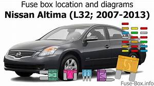 Fuse Box Location And Diagrams  Nissan Altima  L32  2007