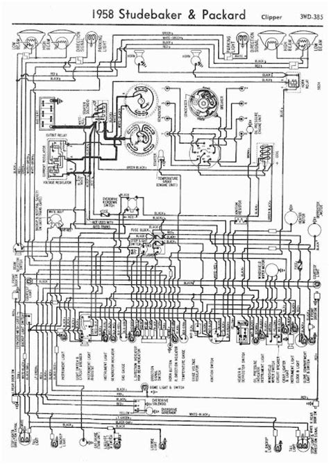 1958 studebaker and packard clipper wiring diagram coll circuit