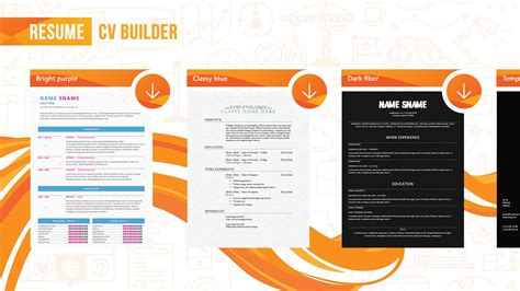 resume cv builder free windows phone app market
