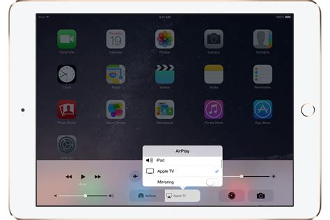 mirror iphone to tv you can t use airplay to to content from your ios