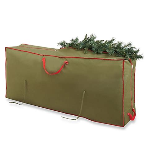 tree storage bag buy real simple 174 deluxe tree storage bag with wheels from bed bath beyond