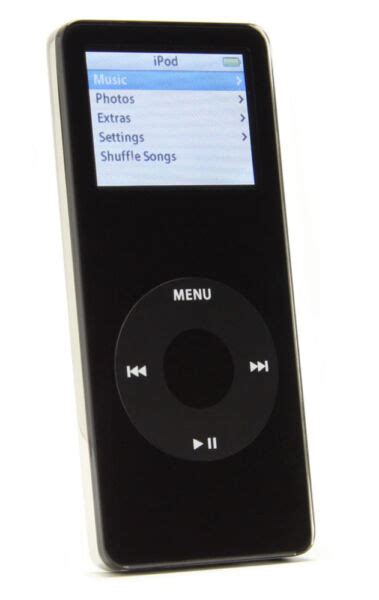 ipod nano generationen apple ipod nano 1st generation black 2 gb for sale ebay