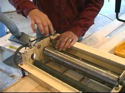 woodmaster planermolder part  making molding