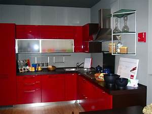 Cucina Moderna Rossa E Bianca Ar3 Tutto Su Ispirazione
