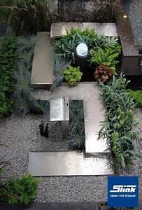Wasserlauf Garten Modern : brunnen aus edelstahl hochwertige edelstahlbrunnen ~ Markanthonyermac.com Haus und Dekorationen