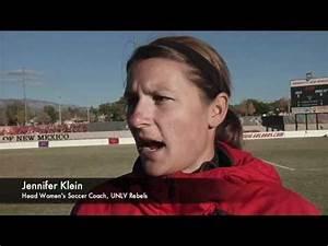 TheMWC.com chats with UNLV head coach Jennifer Klein - YouTube