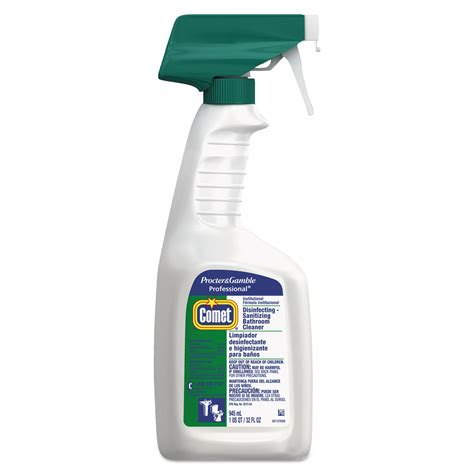 disinfecting sanitizing bathroom cleaner by comet 174 pgc22569ct ontimesupplies