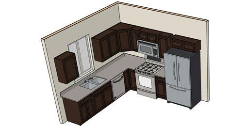 kitchen and bath beyond 10 x 10 l shape kitchen