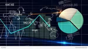 drone wedding world map statistic data graph blue loop fina stock animation 6123004