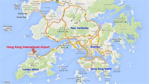 hong kong maps attractions map lantau island map subway map