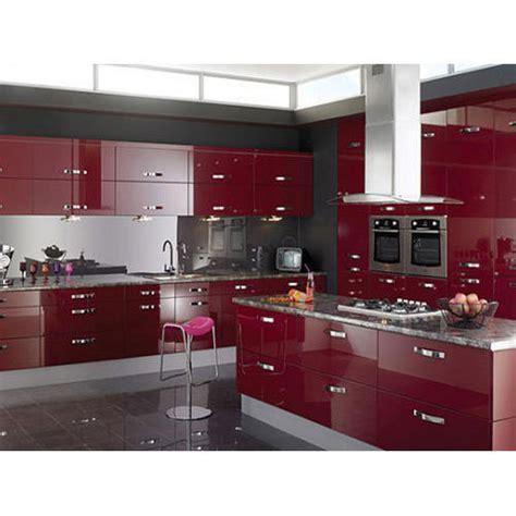 modern acrylic modular kitchen rs  unit frontline interiors id